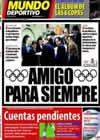 Portada Mundo Deportivo del 23 de Abril de 2010