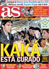 Portada diario AS del 24 de Abril de 2010