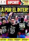 Portada diario Sport del 25 de Abril de 2010
