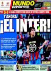 Portada Mundo Deportivo del 25 de Abril de 2010