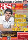 Portada diario AS del 26 de Abril de 2010