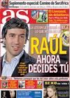 Portada diario AS del 27 de Abril de 2010