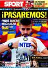 Portada diario Sport del 27 de Abril de 2010