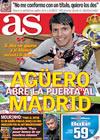 Portada diario AS del 28 de Abril de 2010