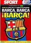 Portada diario Sport del 28 de Abril de 2010