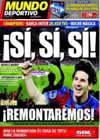 Portada Mundo Deportivo del 28 de Abril de 2010