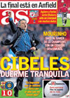 Portada diario AS del 29 de Abril de 2010