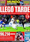 Portada Mundo Deportivo del 29 de Abril de 2010