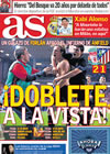 Portada diario AS del 30 de Abril de 2010