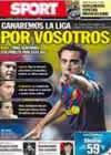 Portada diario Sport del 30 de Abril de 2010