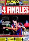 Portada Mundo Deportivo del 30 de Abril de 2010