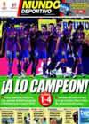 Portada Mundo Deportivo del 2 de Mayo de 2010