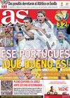 Portada diario AS del 3 de Mayo de 2010