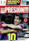Portada Mundo Deportivo del 5 de Mayo de 2010