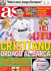 Portada diario AS del 6 de Mayo de 2010