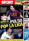 Portada diario Sport del 6 de Mayo de 2010