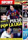 Portada diario Sport del 6 de Mayo de 2010