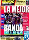 Portada Mundo Deportivo del 6 de Mayo de 2010