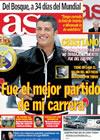 Portada diario AS del 7 de Mayo de 2010