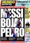 Portada Mundo Deportivo del 7 de Mayo de 2010