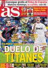 Portada diario AS del 8 de Mayo de 2010