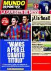 Portada Mundo Deportivo del 8 de Mayo de 2010