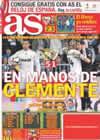 Portada diario AS del 9 de Mayo de 2010