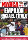 Portada diario Marca del 9 de Mayo de 2010
