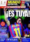 Portada Mundo Deportivo del 9 de Mayo de 2010