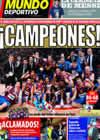 Portada Mundo Deportivo del 10 de Mayo de 2010