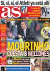 Portada diario AS del 11 de Mayo de 2010