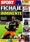 Portada diario Sport del 11 de Mayo de 2010