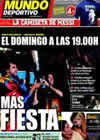 Portada Mundo Deportivo del 11 de Mayo de 2010
