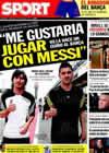Portada diario Sport del 12 de Mayo de 2010
