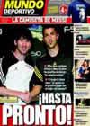 Portada Mundo Deportivo del 12 de Mayo de 2010