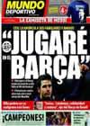 Portada Mundo Deportivo del 13 de Mayo de 2010