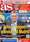 Portada diario AS del 14 de Mayo de 2010