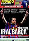 Portada Mundo Deportivo del 14 de Mayo de 2010