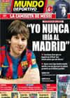 Portada Mundo Deportivo del 15 de Mayo de 2010