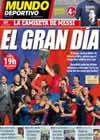 Portada Mundo Deportivo del 16 de Mayo de 2010