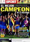 Portada diario Sport del 17 de Mayo de 2010