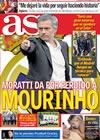 Portada diario AS del 18 de Mayo de 2010