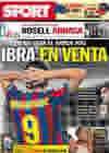 Portada diario Sport del 18 de Mayo de 2010