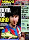 Portada Mundo Deportivo del 18 de Mayo de 2010