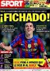 Portada diario Sport del 19 de Mayo de 2010