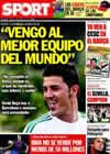 Portada diario Sport del 20 de Mayo de 2010