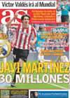 Portada diario AS del 21 de Mayo de 2010