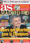 Portada diario AS del 22 de Mayo de 2010