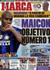 Portada diario Marca del 22 de Mayo de 2010