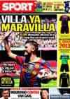 Portada diario Sport del 22 de Mayo de 2010